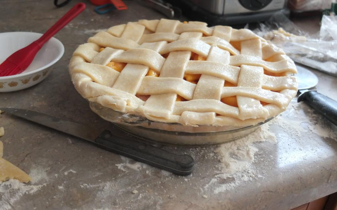 Pretty as a Peach Pie