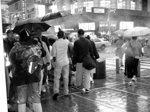 Death Comes to the Umbrella