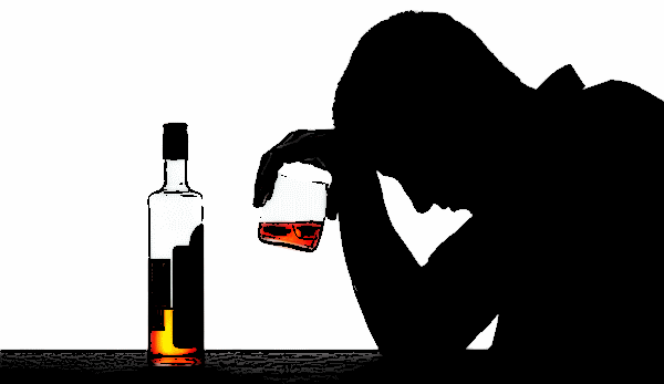 Portrait of an Alcoholic