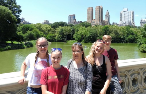 Me and my Family on Vacation in New York