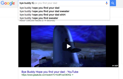 Your Holiday Google Search History