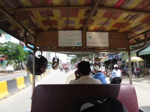 Bussing It in Cambodia