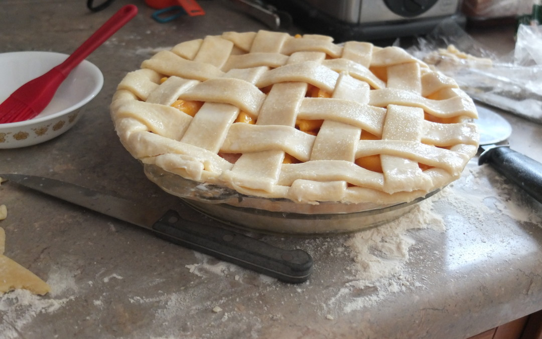 Pretty as a Peach Pie