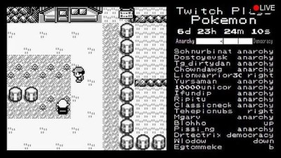 Twitch Plays Pokémon