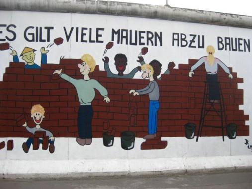 """""""…viele Mauern abzubauen"""""""