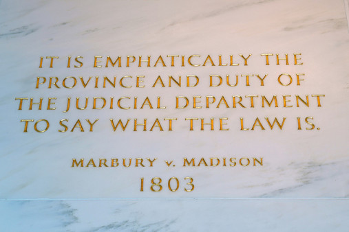 Marbury v. Madison (A Dadaist Retelling)