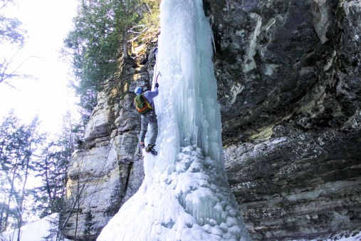 On Ice Climbing and John Prine