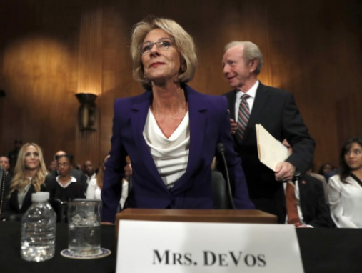 Betsy DeVos wants students to compete for academic opportunity, and that's a problem. Here's why.