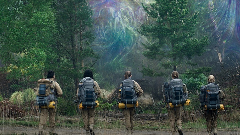 Looking At, Shooting At, and the Weirdness of Annihilation