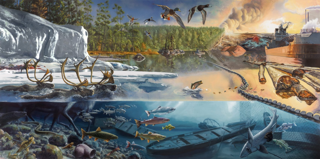 """Natural History Psychedelia"": Alexis Rockman's ""Great Lakes Cycle"""