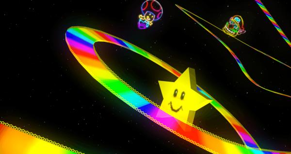 Heaven, Like Mario Kart