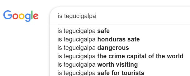 If You Visit Tegucigalpa