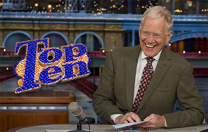 Top Ten Lists with David Letterman