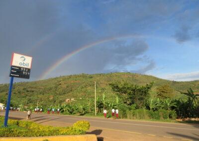 A Jog through Kigali