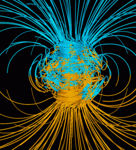 Computer generation of the Earth's magnetic fields