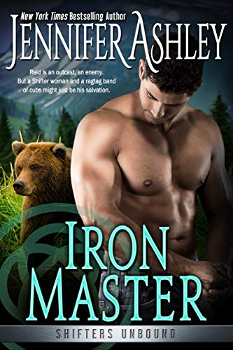 book cover with a bear and a bare-chested man flexing